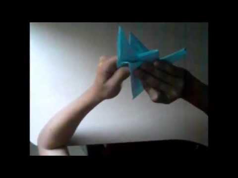 Πως να φτιάξετε έναν γερανό από χαρτί - οριγκάμι