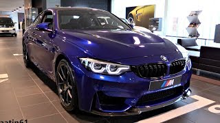 DETAILS of the BMW M4 CS 2018   NEW SOUND In Depth Review Interior Exterior