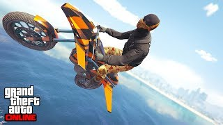 Fly Forever Glitch PLUS What Happens to The Oppressor When It Reaches The Edge of The Map? GTAO