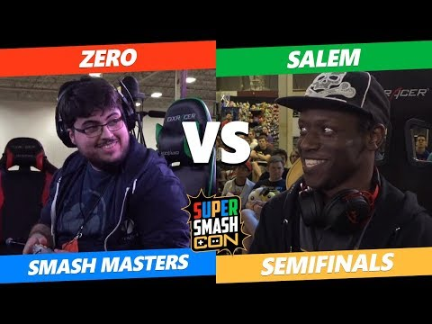 SSC 2019 - Smash Masters Semifinals - Tempo | ZeRo vs MVG | Salem