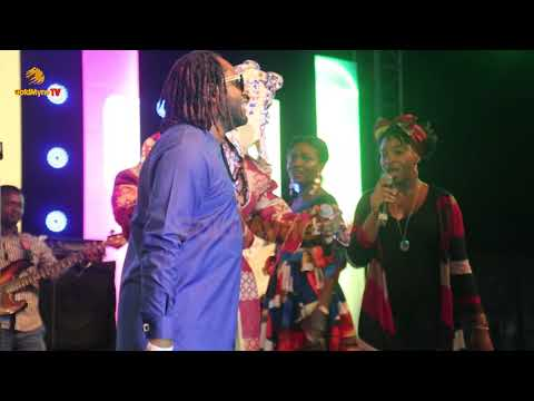 LAGBAJA's GOLD PERFORMANCE AT JOHNNIE JAZZ AND WHISKEY WITH ADEKUNLE GOLD, WANDE COAL AND LAGBAJA  P