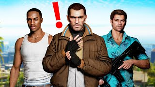 I played every GTA game in ONE VIDEO!