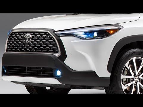 新型カローラクロス2022 動画レビュー。トヨタの新型SUVが初公開