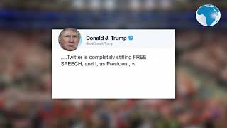 President Donald Trump accuses Twitter of