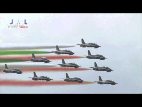 מפגן אווירי מרשים ומלא בפעלולים של צבא בלגיה
