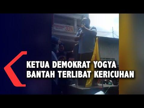 ketua dpd partai demokrat yogyakarta bantah pimpin demo berujung kericuhan di malioboro