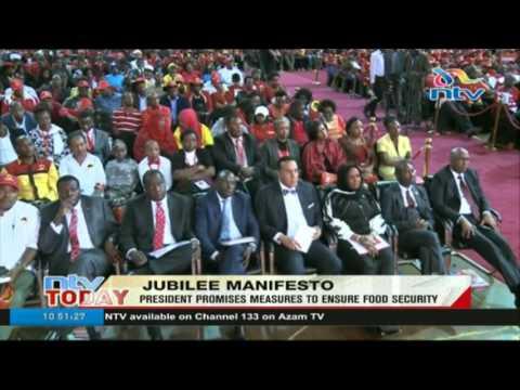 Jubilee promises free secondary education