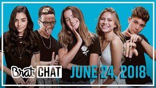 BRAT TV CHAT | Annie & Grant | 6.24.18