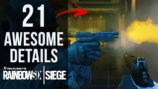 21 AWESOME Details in Rainbow Six Siege