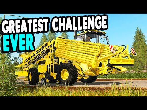 FARMING SIMULATOR 17 | New Harvester Delivered & Farm Crew Convoy | Multiplayer Gameplay