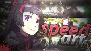 (SPEED ART) Banner-nature e anime=rory mercury [ANDROID/PSTOUCH]