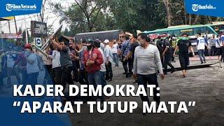 Massa KLB Berkerumun, Kader Demokrat: Apa Jangan-jangan Ada Moeldoko Jadi Aparat Tutup Mata