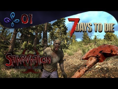 On reprend les bases avec Maniak - 7 DAYS TO DIE Starvation #01