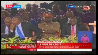Wilson Sossion's full speech on Labour Day