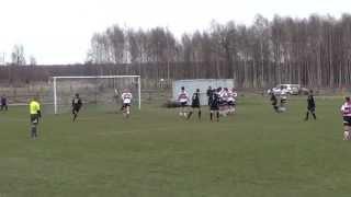 preview picture of video 'MKS Orzeł Kleszczele - KS Błyskawica Dubicze Cerkiewne 6:1 (bramka na 4:1)'