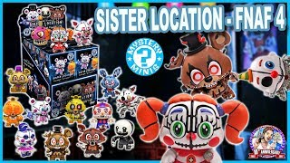 OUVERTURE 12 BOOSTERS MYSTERY MINIS SISTER LOCATION - FNAF 4