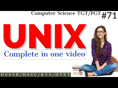 UNIX complete tutorial in one video (All commands) | UNIX in Hindi for beginners | Computer Science