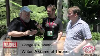 Hear George R.R. Martin's Take on Marvel's The Avengers at Comic-Con 2014