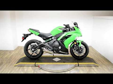 2015 Kawasaki Ninja® 650 in Wauconda, Illinois - Video 1