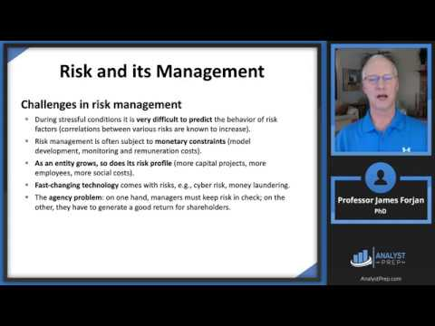 Risk Management: A Helicopter View (FRM Part 1 – Book 1 ...