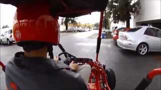Go Kart Demo Ride, Interceptor 196XRX Gokart from GokartsUSA
