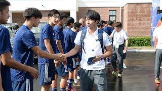 日本代表活動日記6/26U-19日本代表に見送られ決戦の地へ