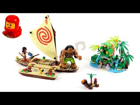 Vidéo LEGO Disney 41150 : Le voyage en mer de Vaiana