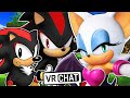 Shadow & Classic Shadow Meet Rouge The Bat! (VR Chat)