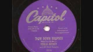 Ferlin Huskey-Slow Down Brother [1955]