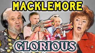 ELDERS REACT TO MACKLEMORE - GLORIOUS (100 YEARS OLD BIRTHDAY SURPRISE!)