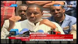 Section of Wajir leaders withdraw support for Governor Ahmed Abdullahi