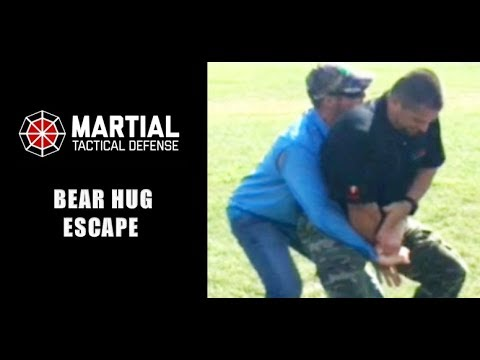Bear hug escape