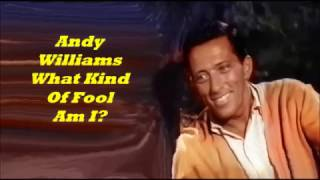 Andy Williams........What Kind Of Fool  Am I?