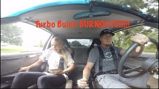 Girl Freaks OUT in Turbo BUICK!!!