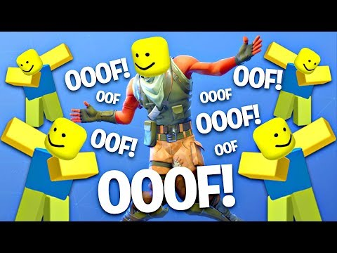 Fortnite Dances But With The Ooof Sound Roblox Death Sound