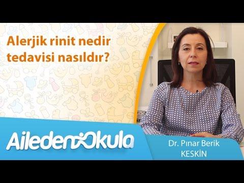 Alerjik rinit nedir, tedavisi nasıldır?