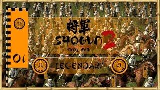 Let's Play Total War: Shogun 2 (Legendary) - Ikko Ikki - Ep.01 - Forging Alliances!