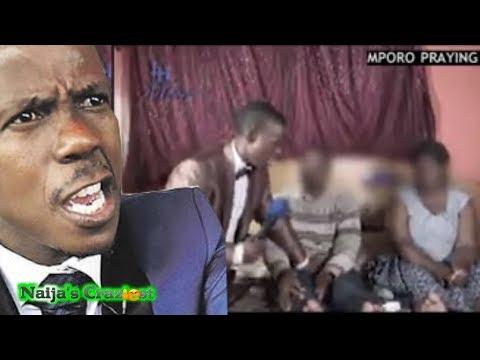 Prophet Mboro Orders Member To Test ManHood On Wife Live On Camera After Deliverance