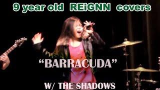 9 year old Reignn Acedera sings Barracuda- Monmouth Regional High School Got Talent