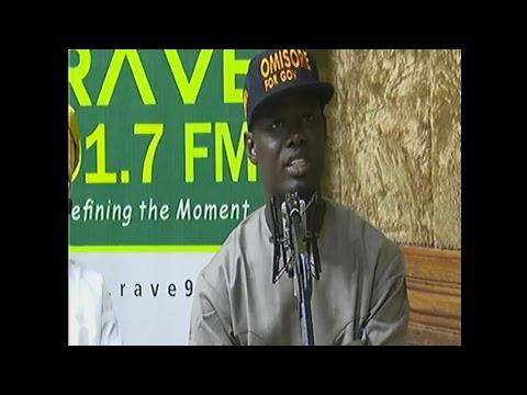 RAVE FM - Osun Deputy Governorship Debate  August 30, 2018.