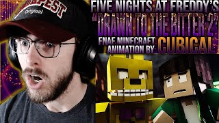 """Vapor Reacts #1190   FNAF MINECRAFT ANIMATION """"Drawn to the Bitter 2 Charlotte"""" by @Cubical REACTION"""
