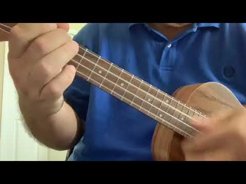 Eric Lesko playing intro to Over the Rainbow on Tenor Ukulele