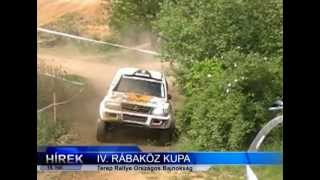 preview picture of video 'IV. Rábaköz-Kupa 2012-05.11-13. - Terep Rallye Kapuvár'