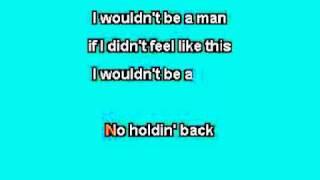 Josh Turner - I Wouldn't Be A Man (Karaoke)