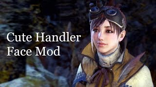 Cute Handler Face Mod Overview - Monster Hunter World PC