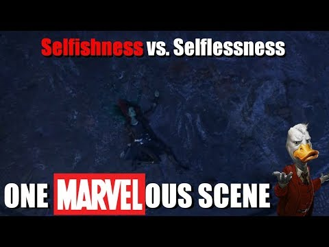 One Marvelous Scene - Selfishness vs. Selflessness