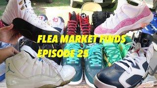 Flea Market Finds #25| BIGGEST SNEAKER FINDS!! JORDAN HEAT!!| LegitLooksForLife