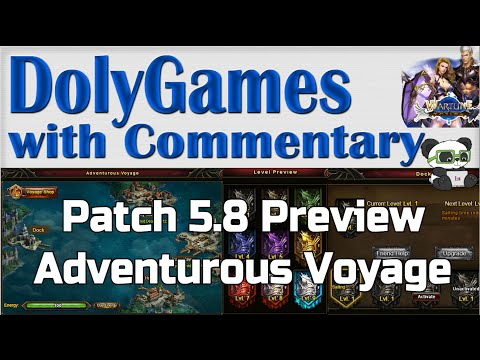 ➜ Wartune Patch 5.8 Preview - Adventurous Voyage