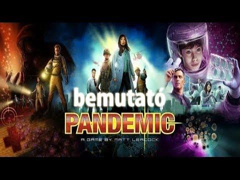 Pandemic - társasjáték bemutató - Jatszma.ro