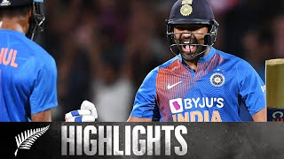 Sharma Stars In Thriller | SUPER OVER REPLAY | BLACKCAPS v India - 3rd T20, 2020